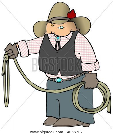 Cowboy With A Lariat