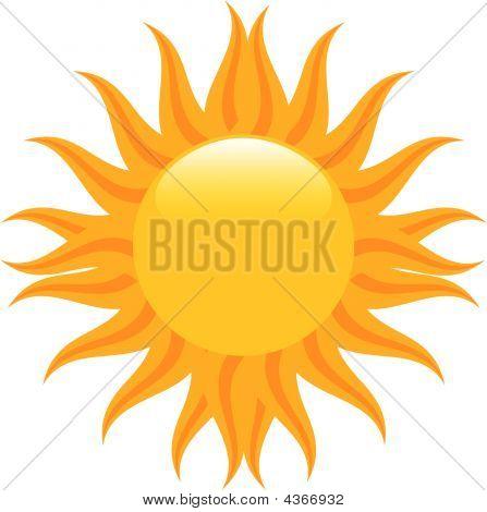 Meados do verão sol