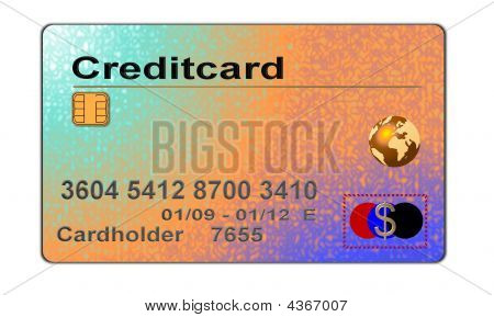 Colorful Creditcard