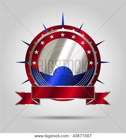 Luxurious market label/emblem/sticker