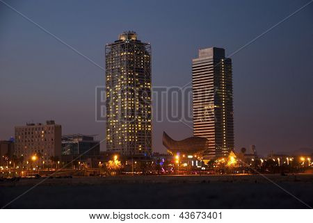 Mapfre Twin Towers, Barcelona