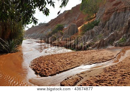 Ham Tien canyon near Mui Ne, Vietnam