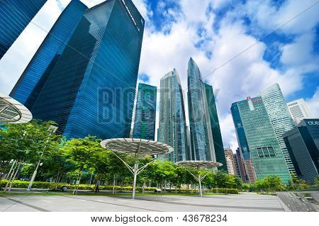 Urban Landscape Of Singapore