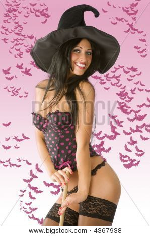 Sexy Witch With Hat