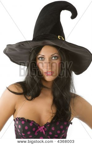Witch With Blue Eyes