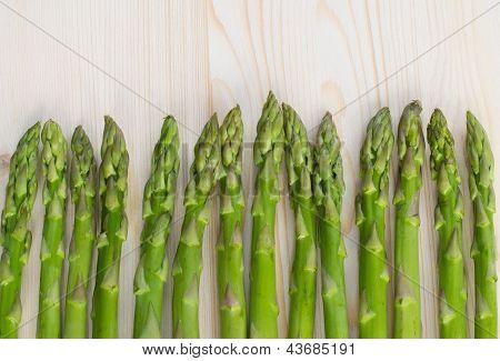 Green Asparagus Background