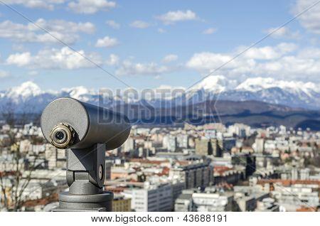 Viewfinder Telescope