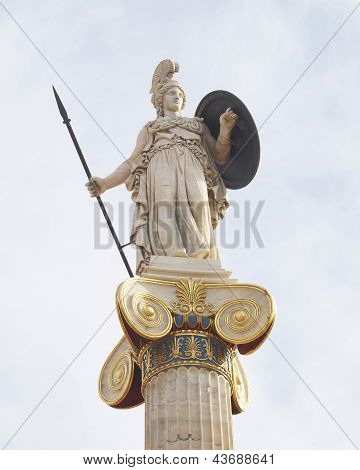 Athena godless of wisdom and philosophy