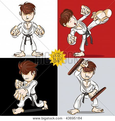 Martial Art Karate