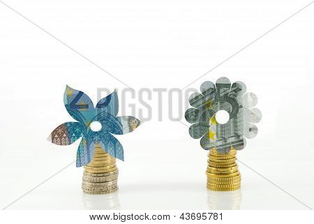 Flowers Out Of Money