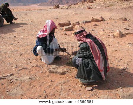 Making Desert Soap At Wadi Rum