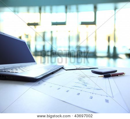 Graphs charts business table
