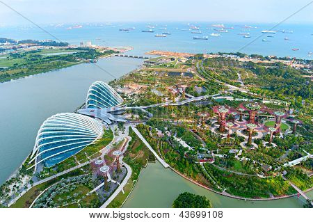 Gardens By The Bay Bird's Eye View