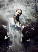 stock photo of fairies  - Mystery - JPG