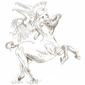 picture of centaur  - An hand - JPG