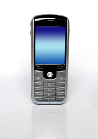 stock photo of mobile-phone  - Mobile phone  - JPG