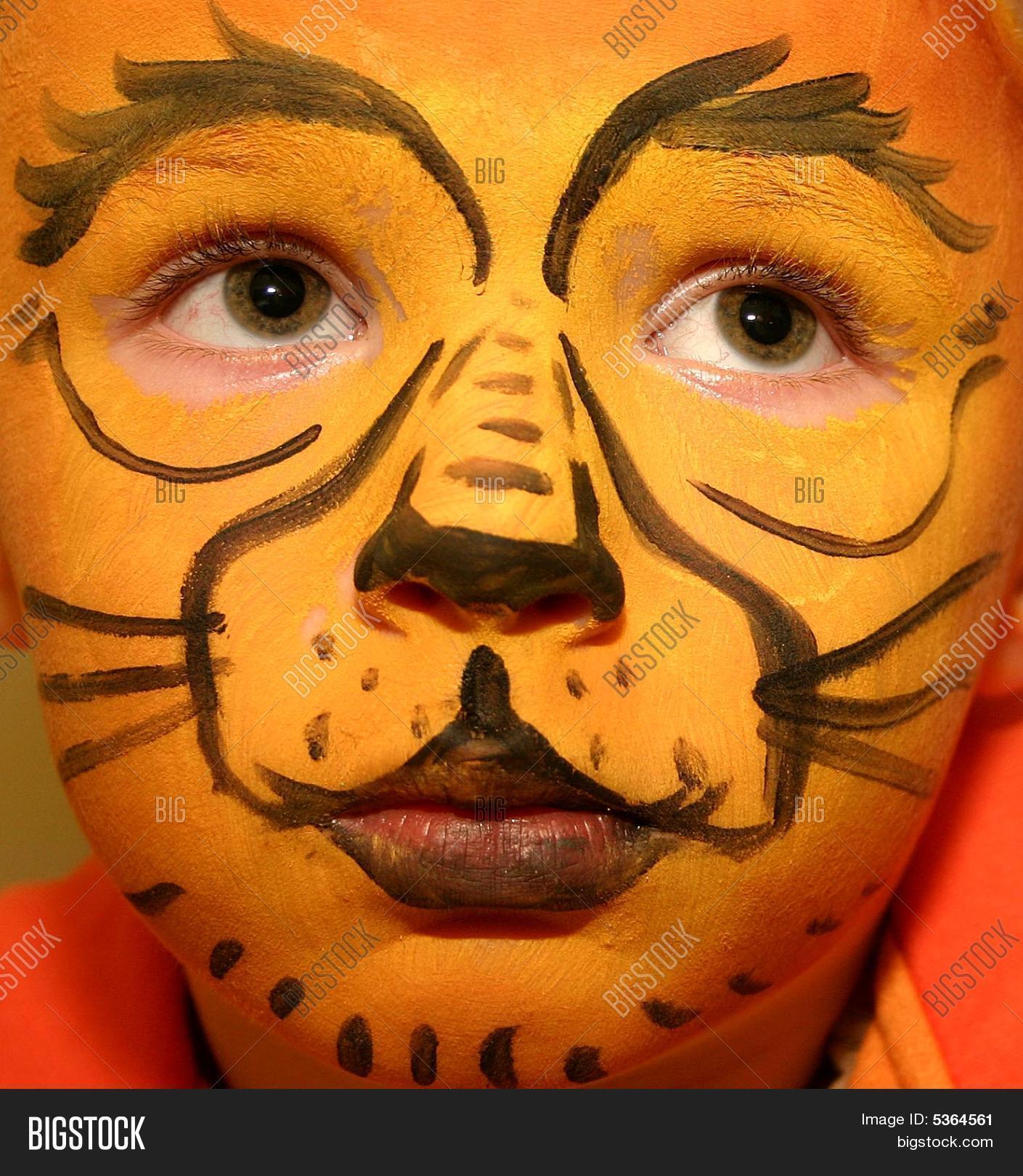 Uncategorized Lion Facepaint lion face painting image photo bigstock painting