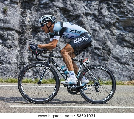 The Cyclist Matteo Trentin