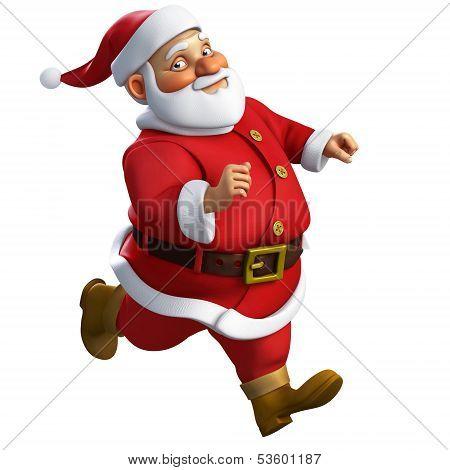 3D Cartoon Santa Run
