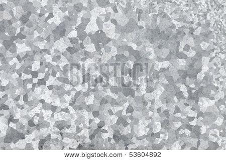 Galvanized Steel Closeup Background Texture