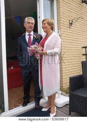 Wedding Of Elderly People