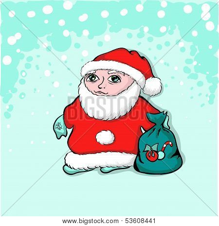 Santa Claus. A Young Santa Claus.