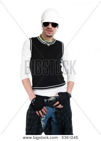 Dude In Black Glasses