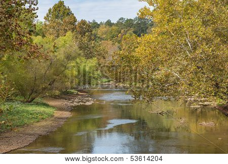 Valley River In Murphy, North Carolina
