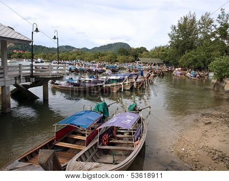 Boats In Ao Nang (2)