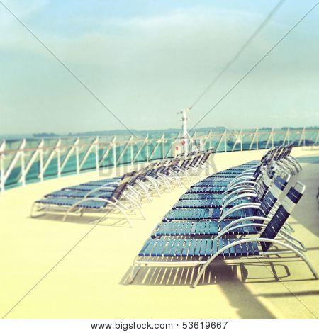 Summer Beach Chair on a Cruise