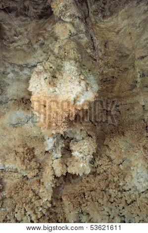 gypsum crystals cave