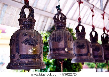 Bell In Thai Temple