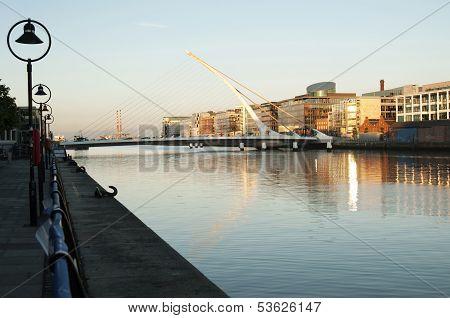 Samuel Beckett Bridge, Dublin - Ireland