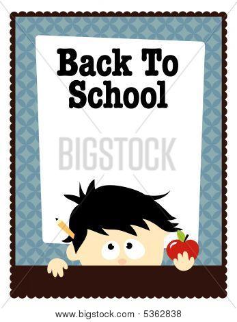 School Flyer Template Vector