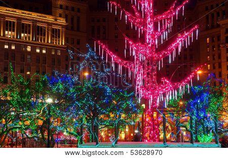 City Christmas Lights
