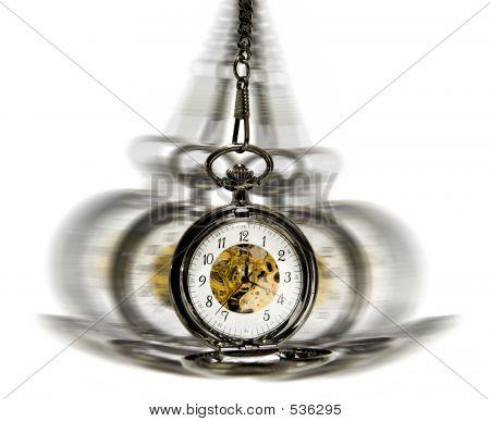 Reloj en movimiento - hipnotismo