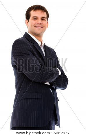 Arms Crossed Businessman