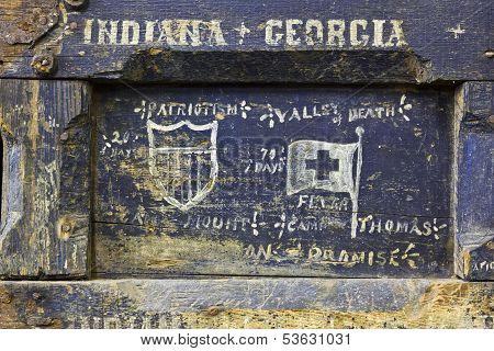 Spanish American War Soldier Box