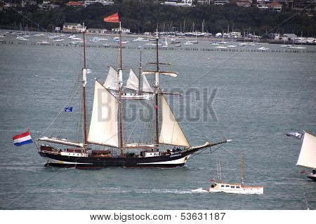 Tall Ship Tecla In Auckland