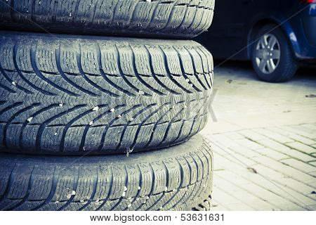 Tires Of A Car