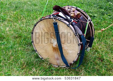 Drum On The Grass