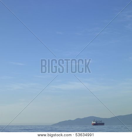 Tanker On The Ocean