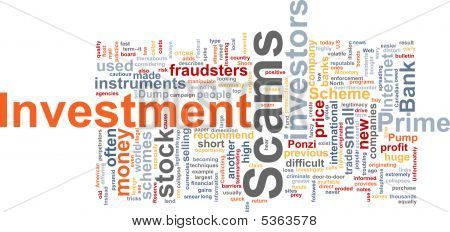 Investimento Scams Word Cloud