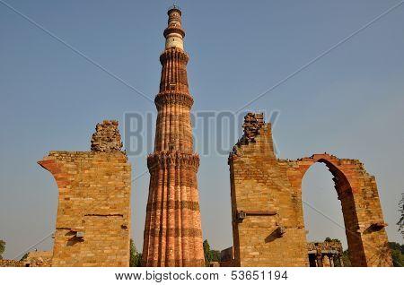 Qutub Minar Tower  Delhi India