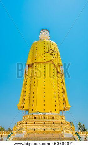 Giant Buddha Statue Skyscraper