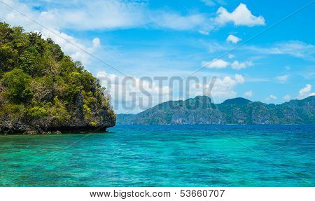 Sea Shore Landscape