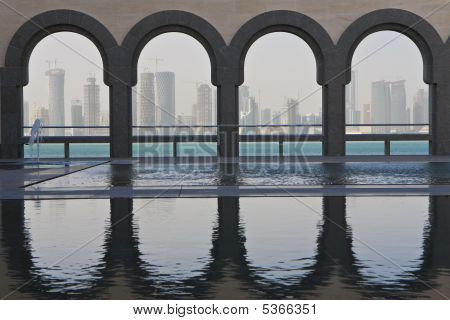 Doha Skyline, Qatar December 2008