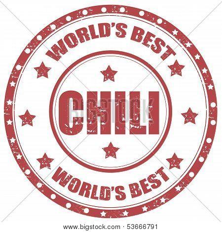 Chili-stamp