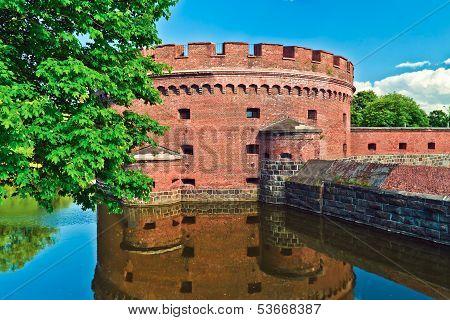Defensive Tower Dona (german: Der Dohna) Of Koenigsberg