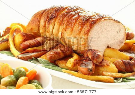 Roast Turkey Rolled Breast Joint